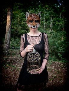 Red Fox Mask by MissMaryMask on Etsy