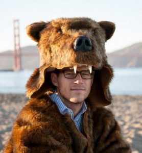 Grizzly bear costume by Griz Coat