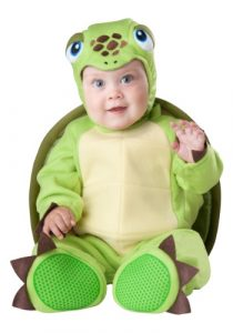 Tiny turtle costume